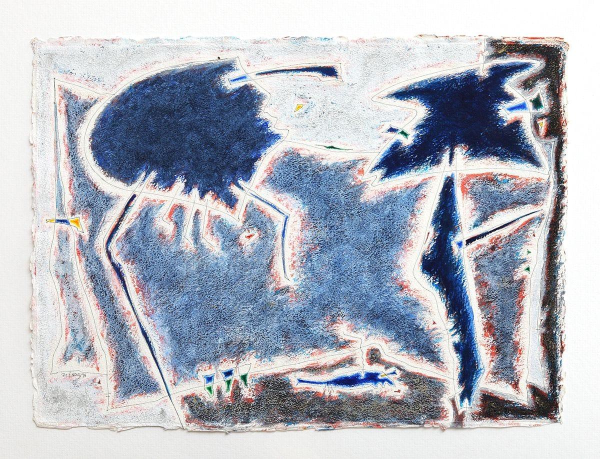 Azuis escuros